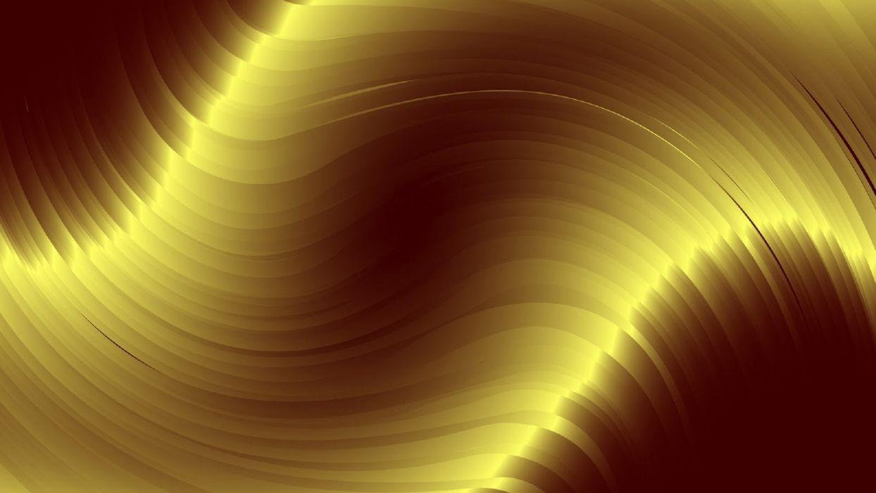 abstracto vector ondas oro wallpaper