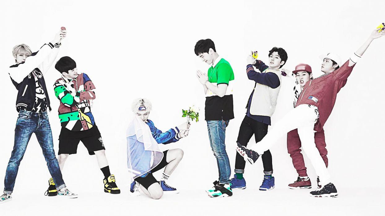 Monsta X Jooheon I M Shownu Kihyun Minhyuk Wonho Hyungwon Kpop wallpaper