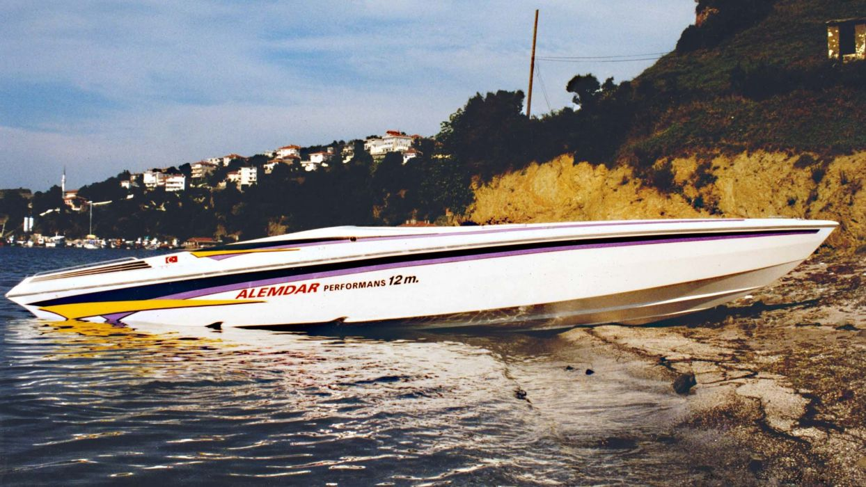 POWERBOAT boat ship race racing superboat custom cigarette offshore wallpaper