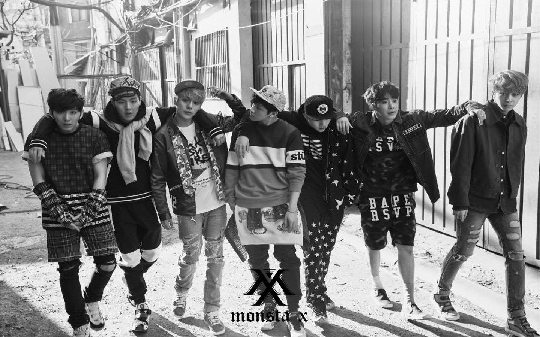Monsta X Jooheon I M Shownu Minhyuk Wonho Kihyun Hyungwon Wallpaper