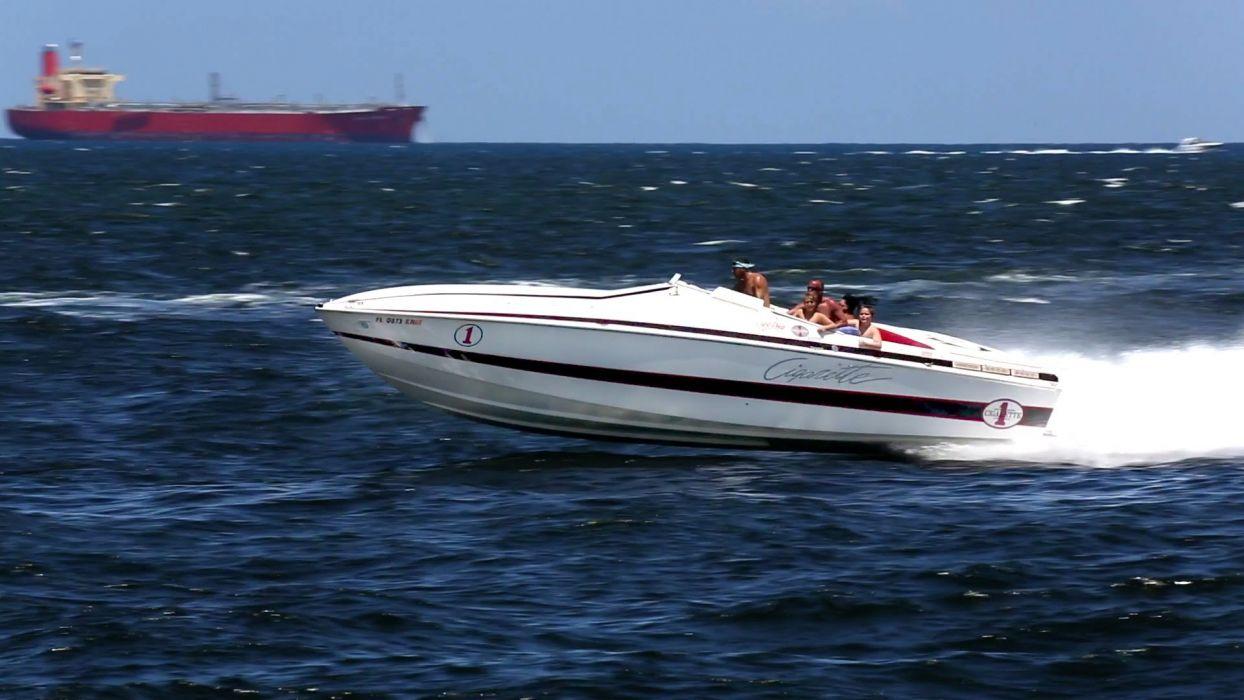 POWERBOAT boat ship race racing superboat custom cigarette offshore wallpaper