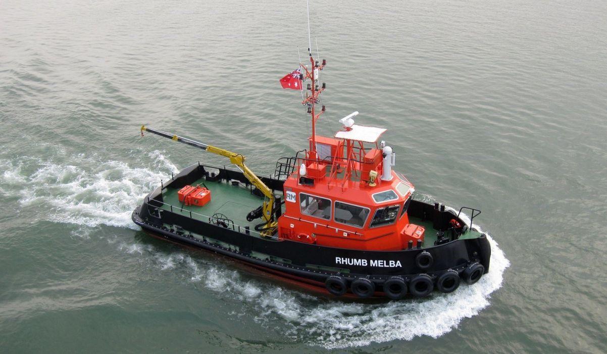 TUGBOAT ship boat tug wallpaper