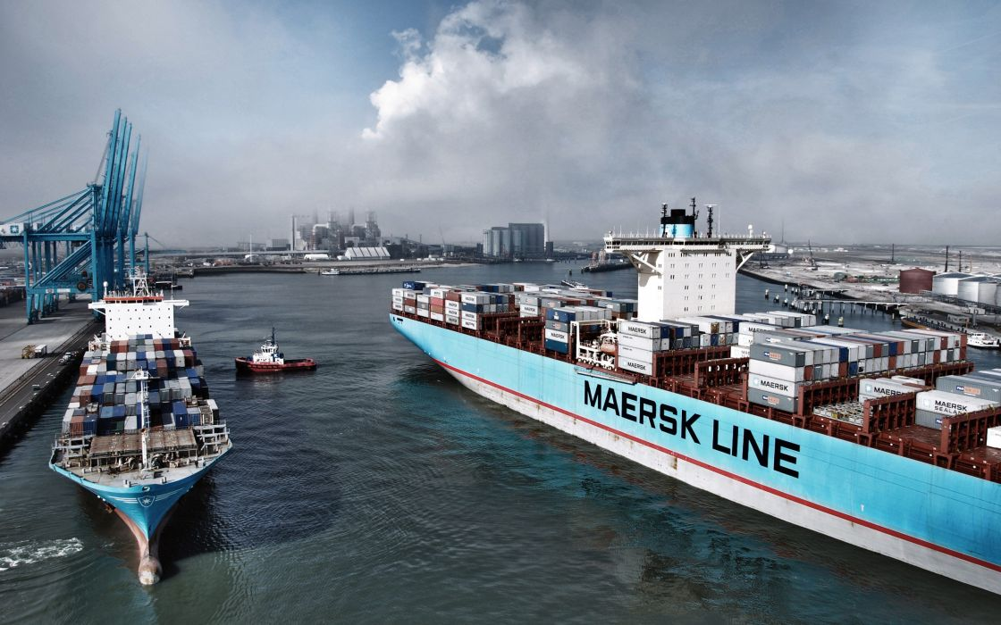 CARGO SHIP tanker ship boat transport container freighter wallpaper