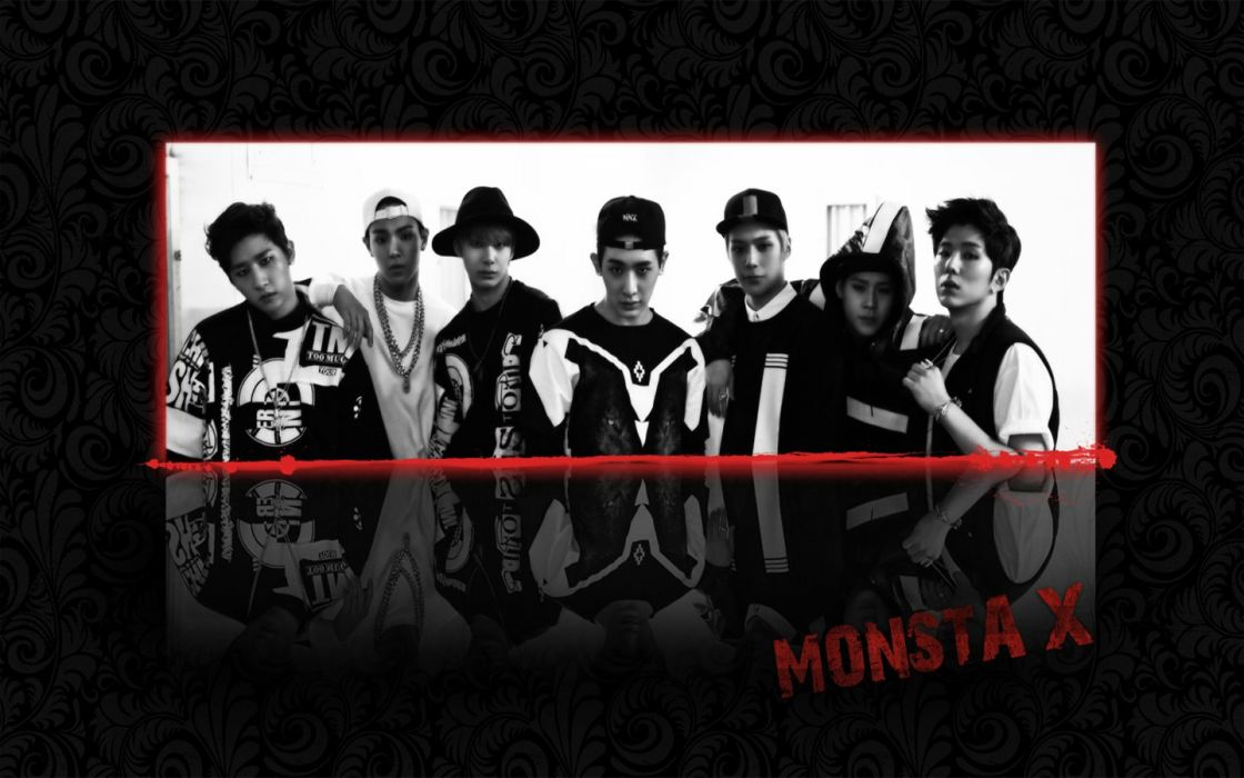 Monsta x Shownu Wonho Minhyuk Kihyun Hyungwon Jooheon I M wallpaper