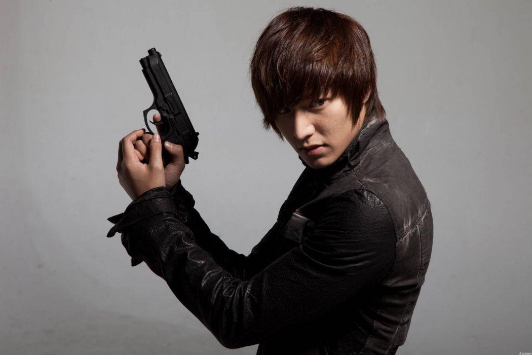 Lee Minho City Hunter Actor Drama series Model wallpaper