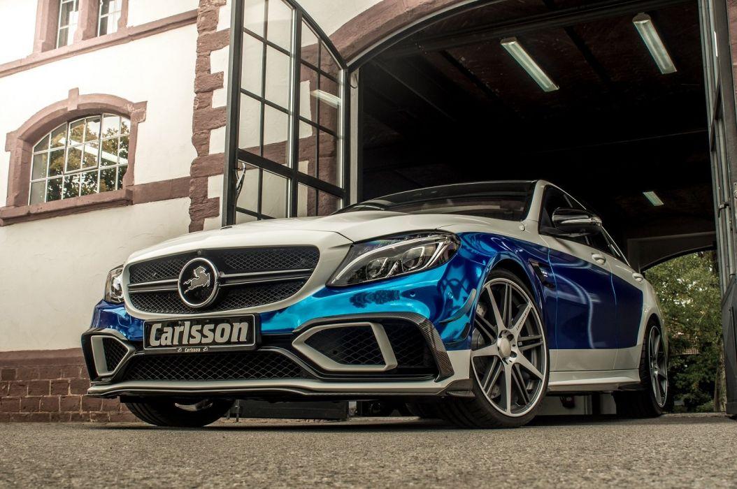 carlsson cars CC63S Mercedes modified Rivage wallpaper