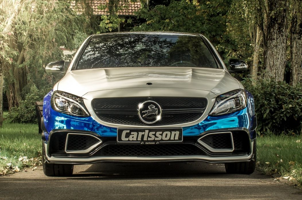 carlsson cars CC63S Mercedes modified Rivage wallpaper