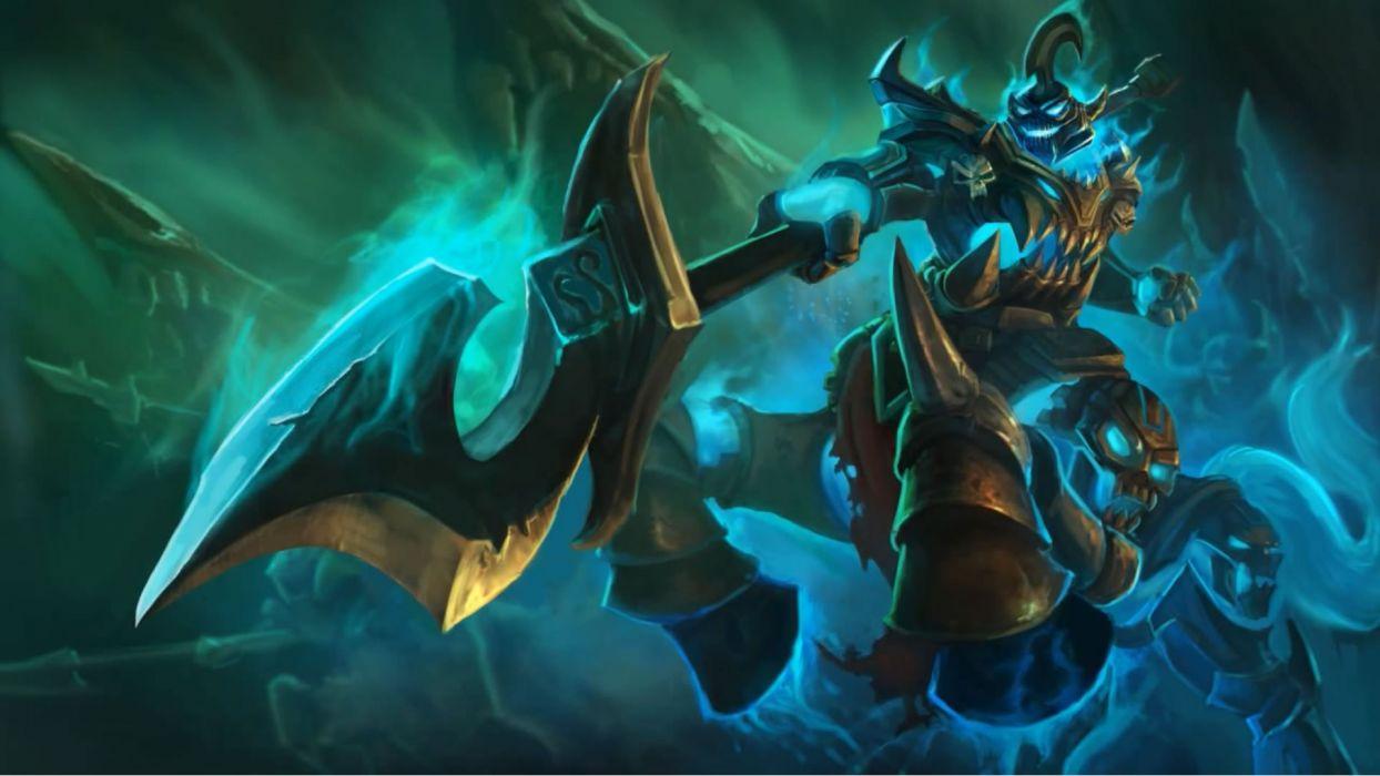 Hecarim Splash art - League Of Legends wallpaper