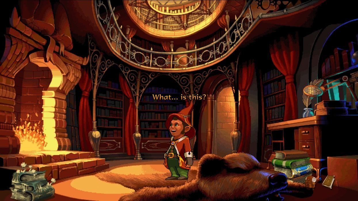 BOOK OF UNWRITTEN TALES adventure Book fantasy puzzle wallpaper