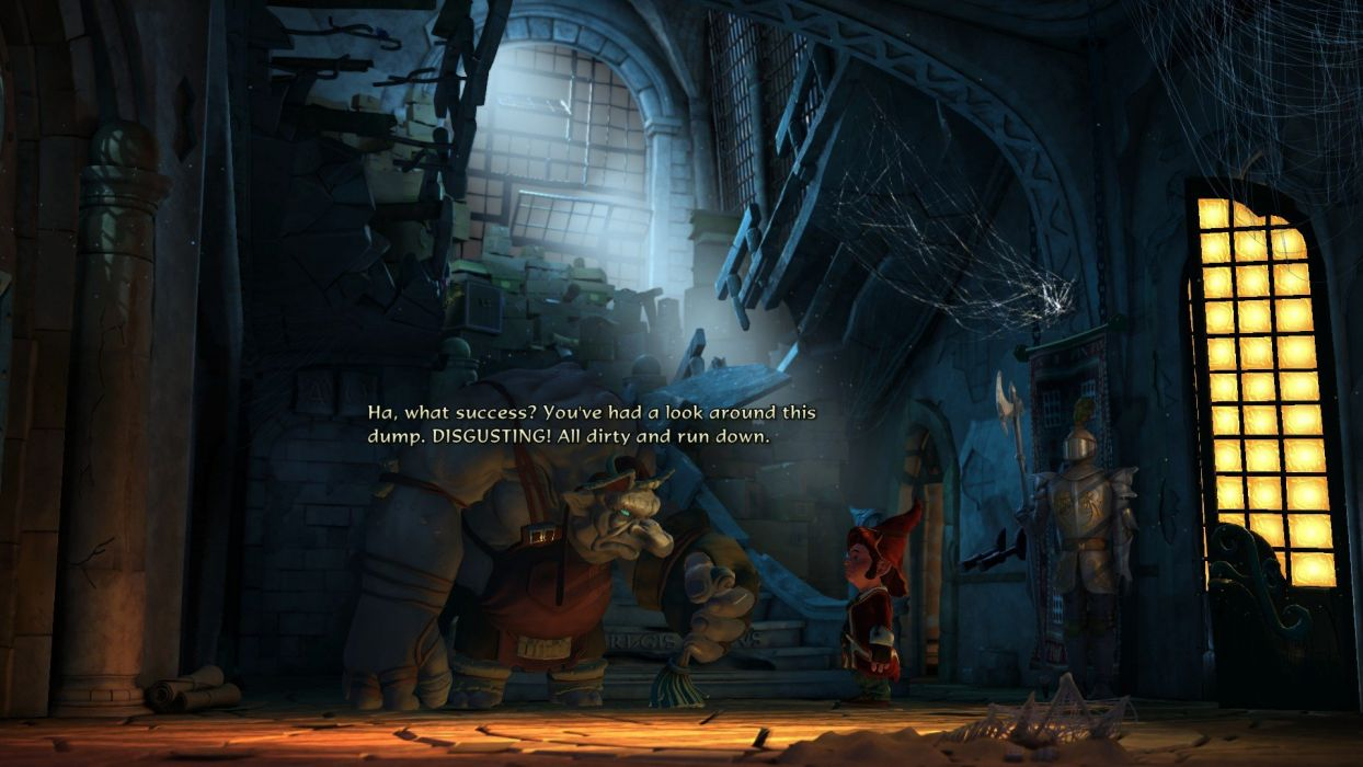 BOOK OF UNWRITTEN TALES adventure Book fantasy puzzle wallpaper