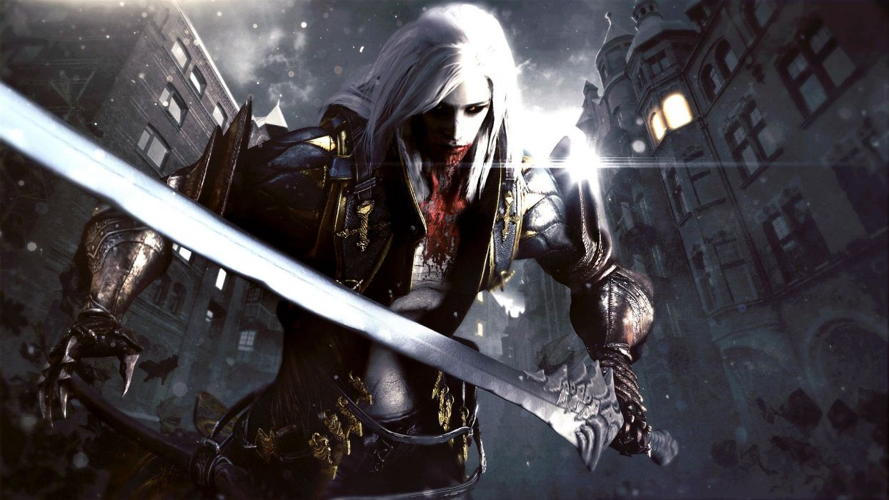 CASTLEVANIA fantasy dark vampire dracula adventure action platform warrior blood wallpaper