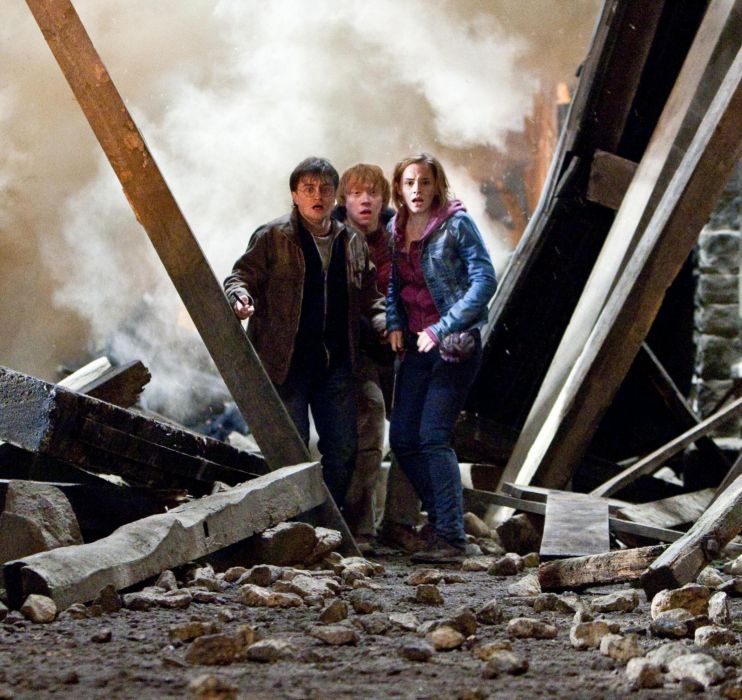 Harry Potter Rupert Grint movie Daniel Radcliffe Emma Watson wallpaper