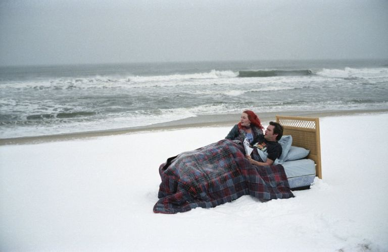 Jim Carrey Kate Winslet movie Eternal Sunshine of the Spotless Mind wallpaper