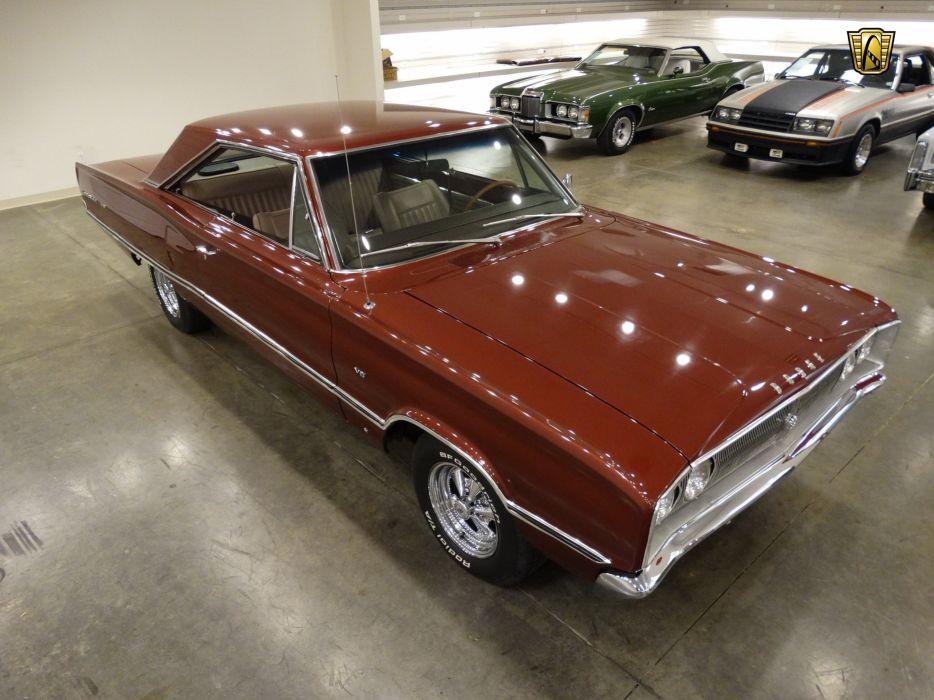 1967 Dodge Coronet coupe 440 cars usa wallpaper