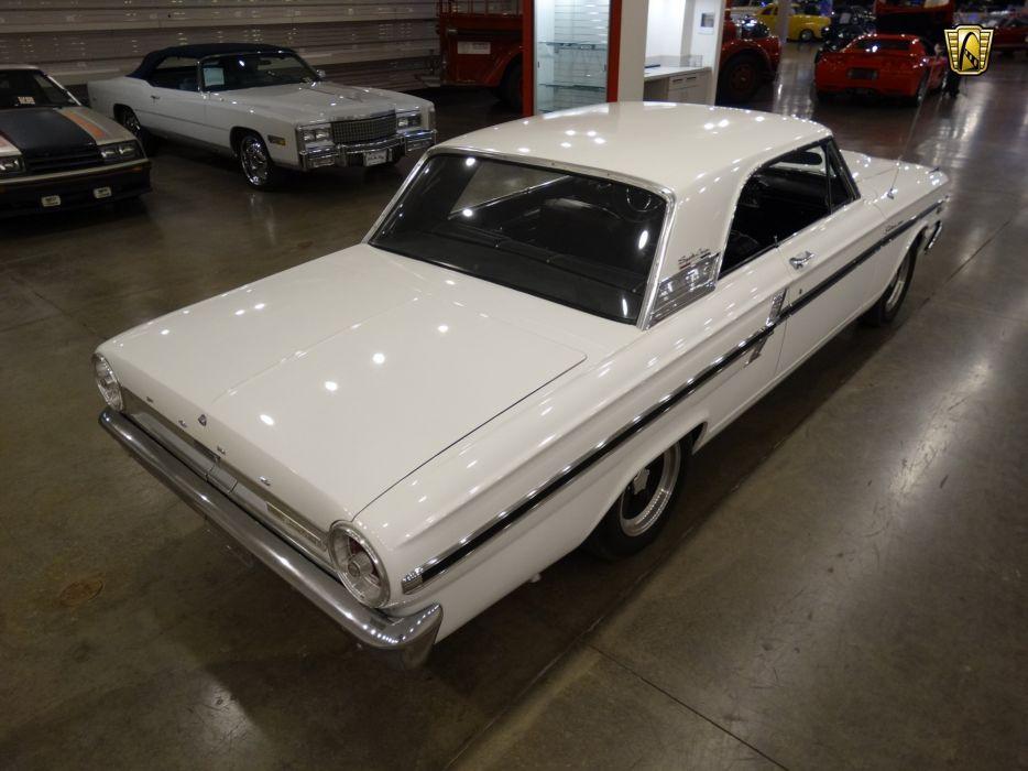 1964 Ford Fairlane Thunderbolt white cars usa wallpaper