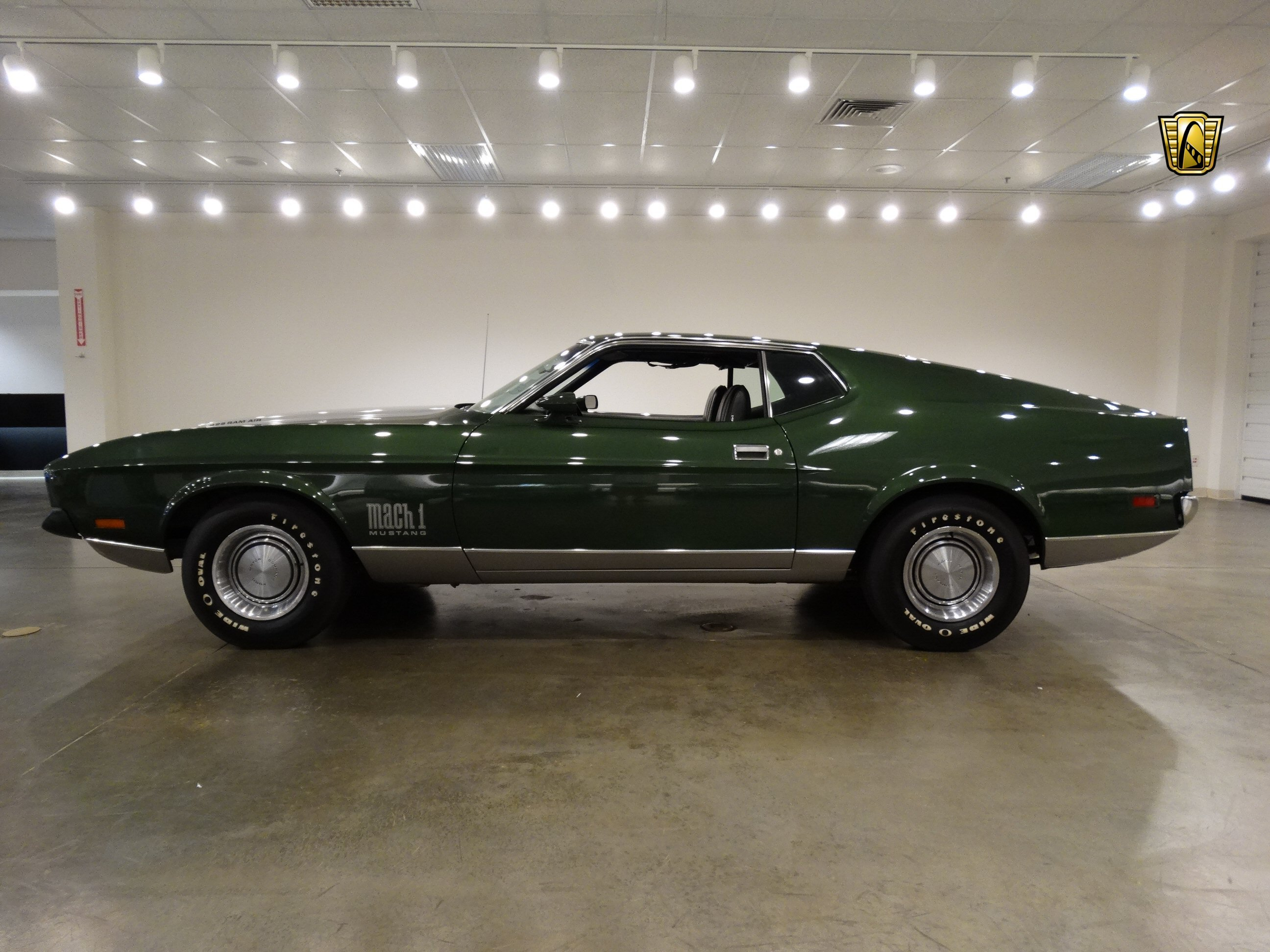 1971 ford mustang mach 1 cars green coupe usa wallpaper 2592x1944 817752 wallpaperup