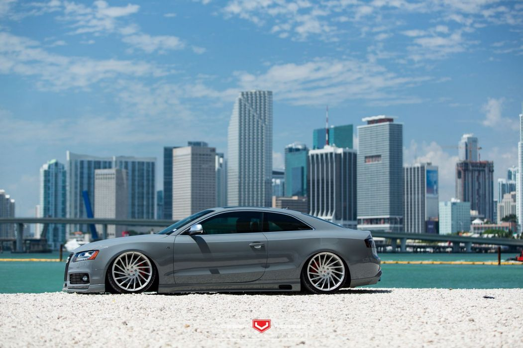 Audi-S5 Vossen Forged wheels cars coupe Wheels wallpaper