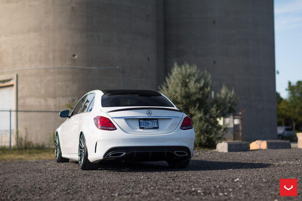 Mercedes C400 Vossen Forged wheels cars sedan wallpaper