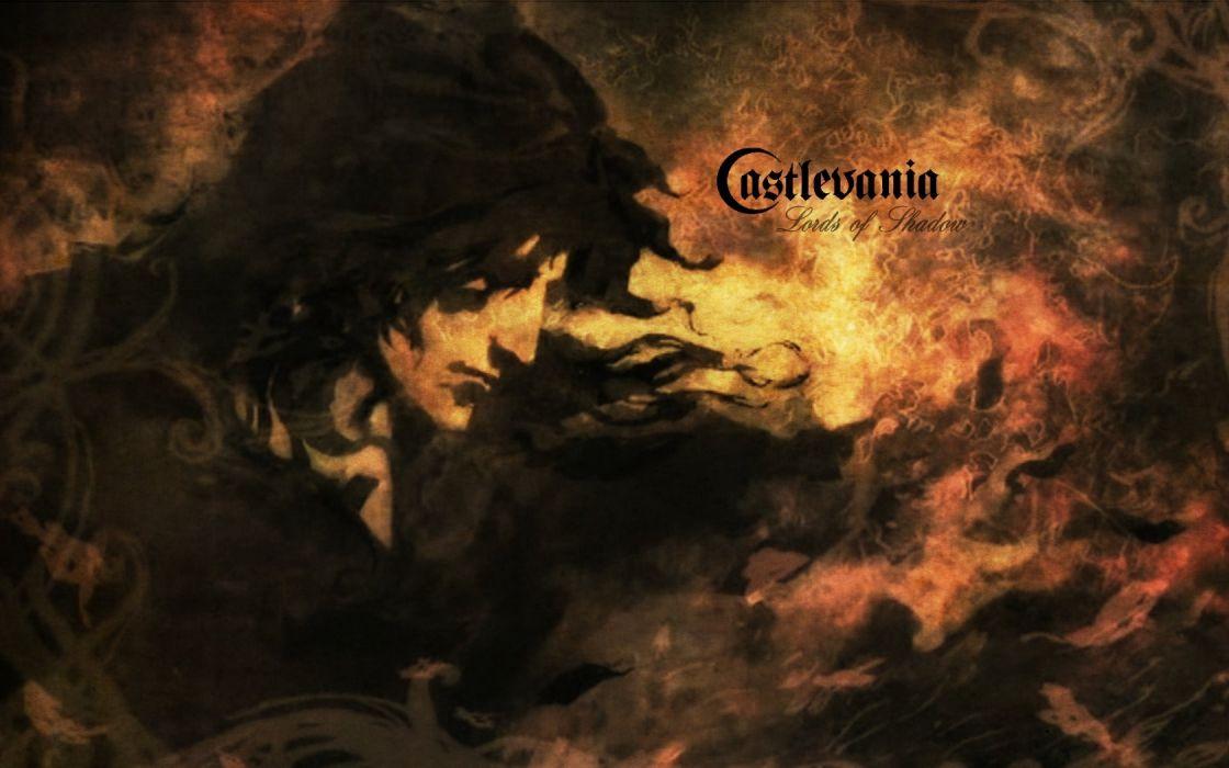 CASTLEVANIA fantasy dark vampire dracula adventure action platform warrior wallpaper