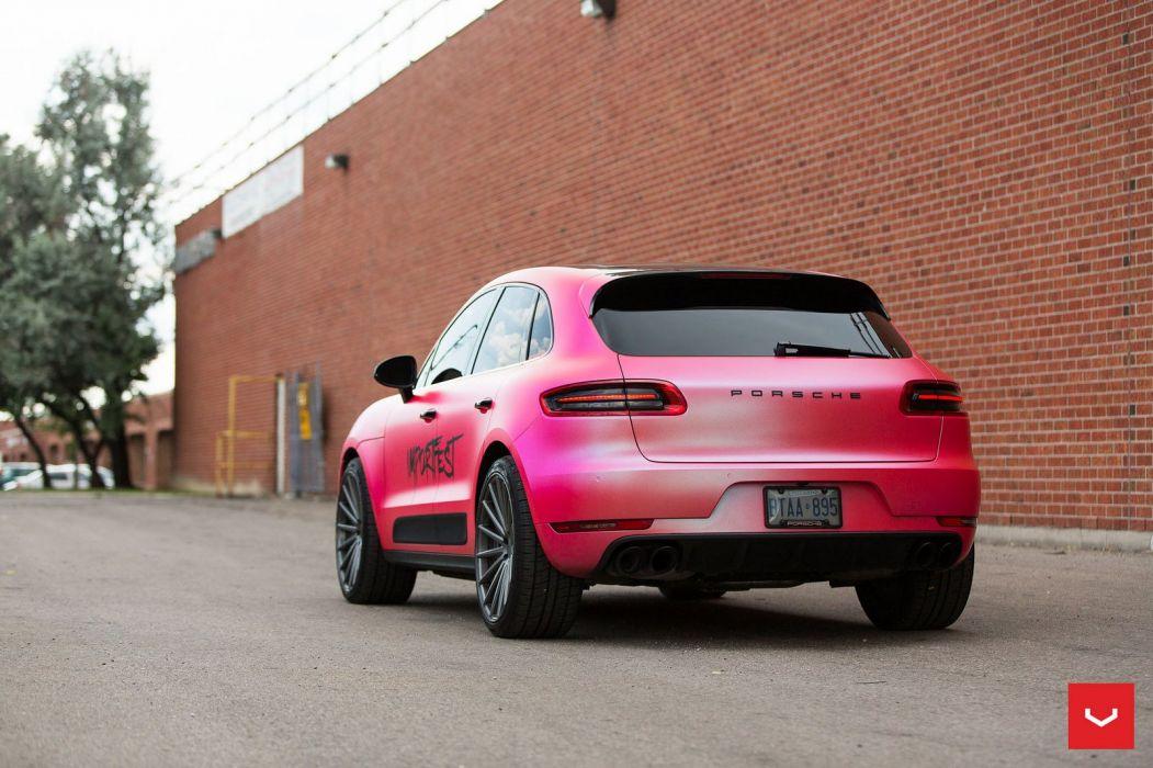 Porsche Macan Vossen Forged wheels cars sedan wallpaper