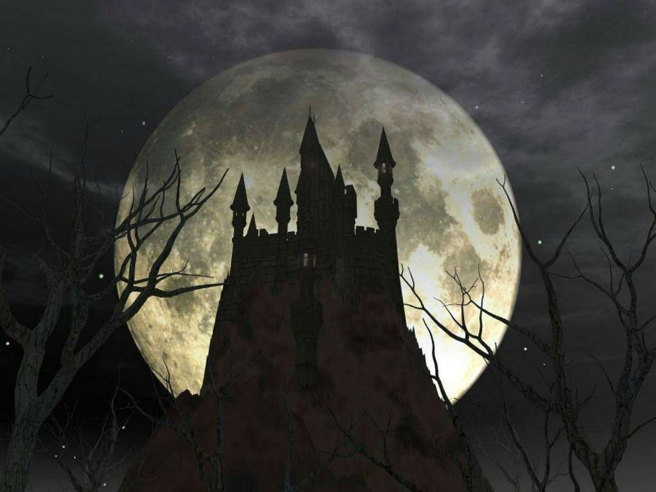 CASTLEVANIA fantasy dark vampire dracula adventure action platform warrior castle wallpaper