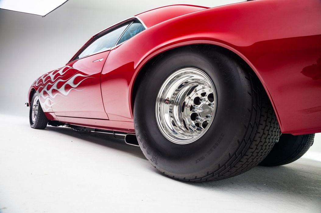 1968 Chevrolet Chevy Camaro Super Steet Pro Street Drag USA -05 wallpaper
