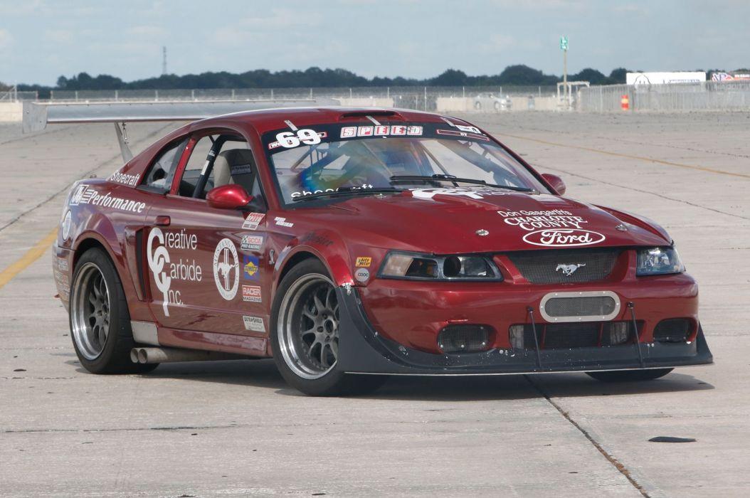 2003 Ford Mustang Cobra GT Race Pro Touring Supercar Super Street USA -01 wallpaper