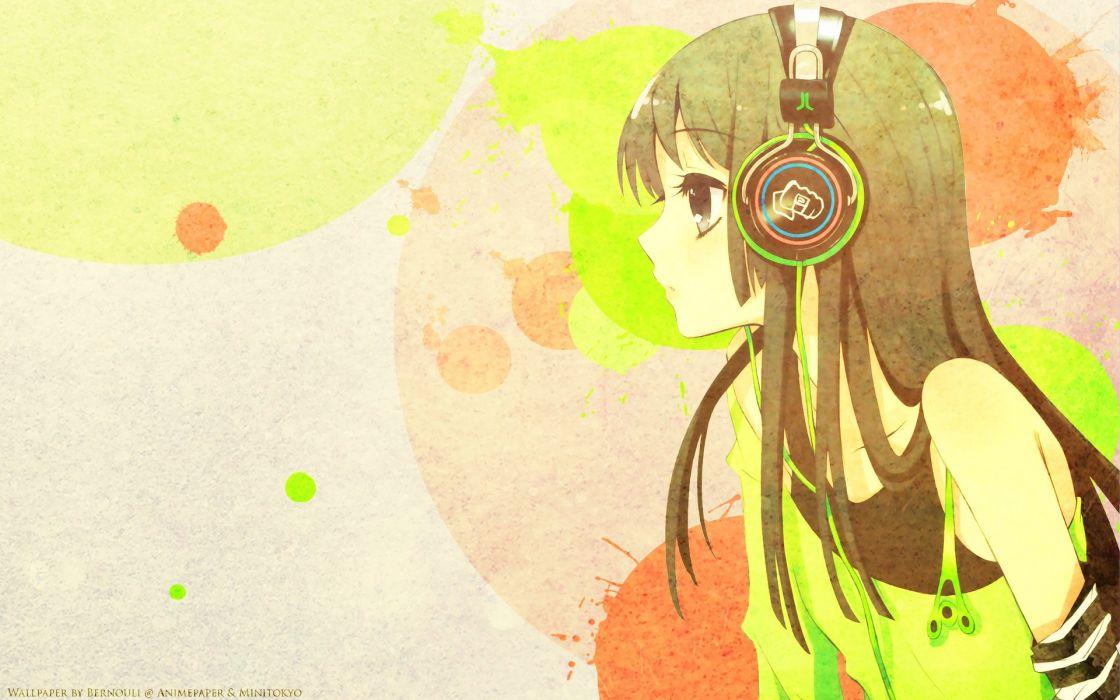 anime girl long hair cute wallpaper
