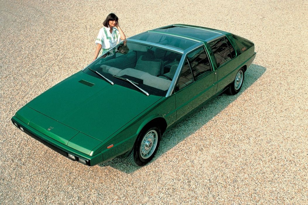 Maserati Medici concept cars 1974 wallpaper