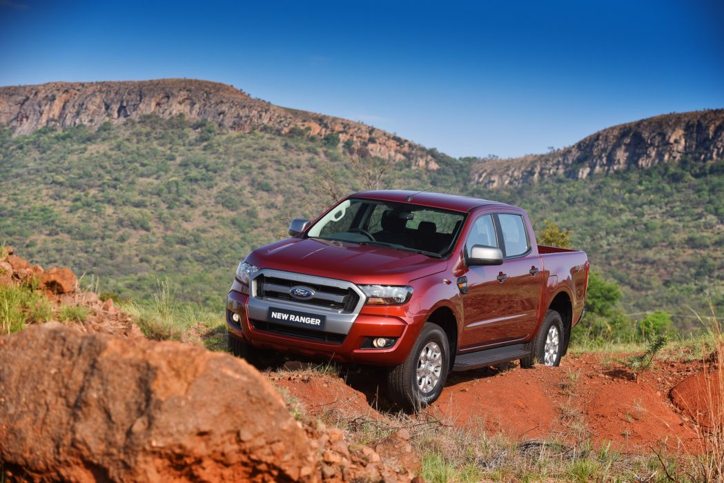 Ford Ranger XLs Double Cab ZA-spec cars pickup 2015 wallpaper