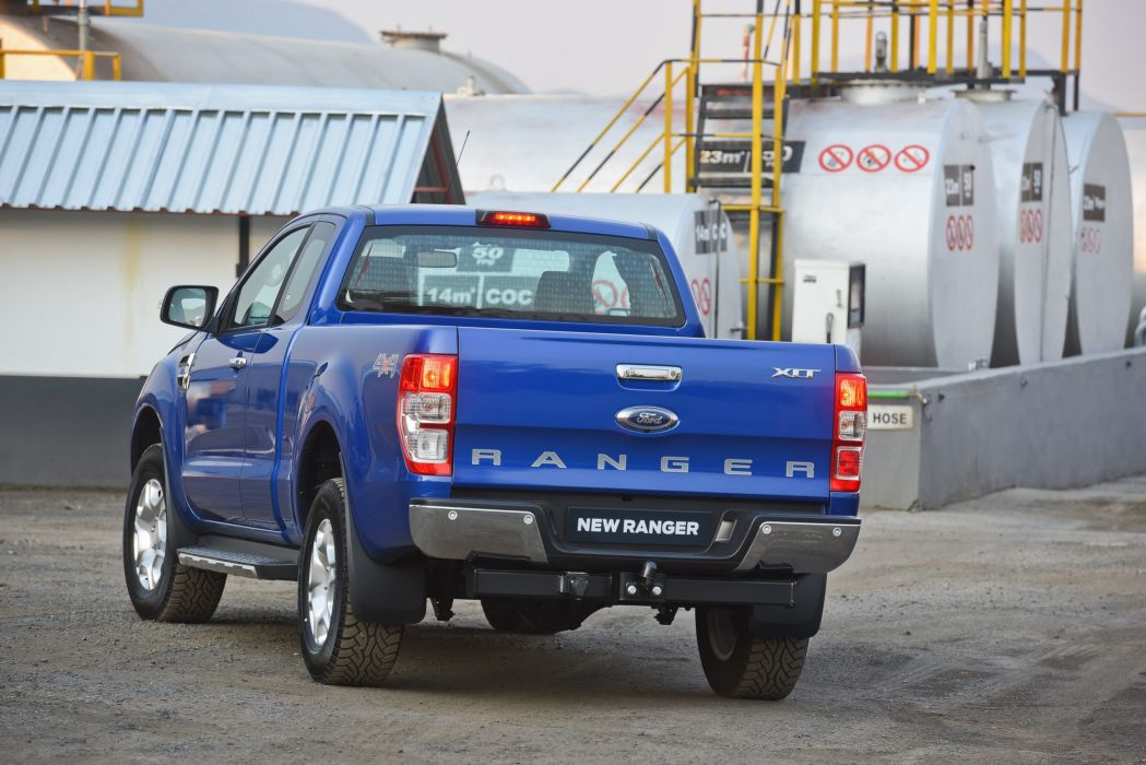Ford Ranger XLt super Cab ZA-spec cars pickup 2015 wallpaper