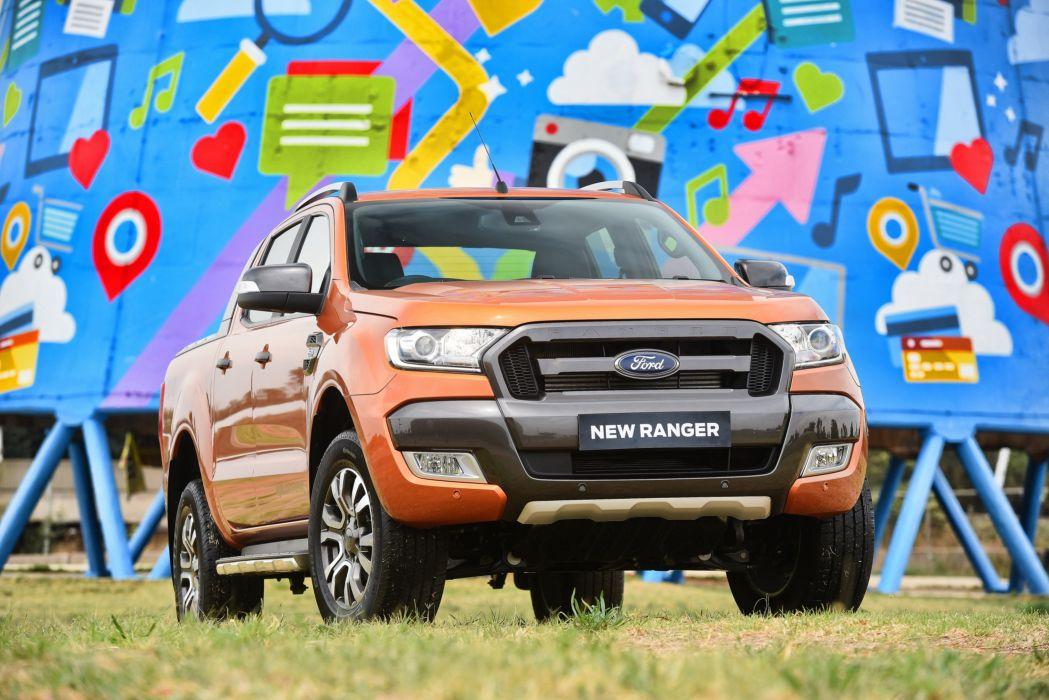 Ford Ranger Wildtrak ZA-spec cars pickup 2015 wallpaper