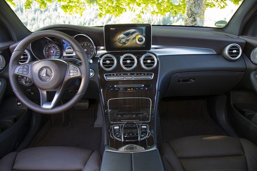 Mercedes GLC 250 4MATIC Off-Road (X253) cars 2015 wallpaper