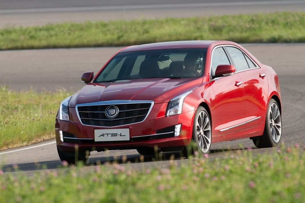Cadillac ATS-L cars sedan 2014 wallpaper