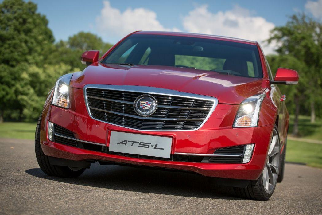 Cadillac ATS-L cars sedan 2014 wallpaper