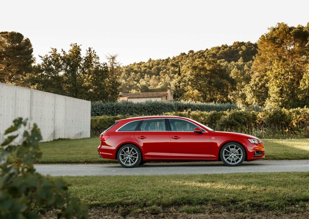 Audi-A4 Avant TDI quattro S-line (B9) cars wagon 2015 wallpaper