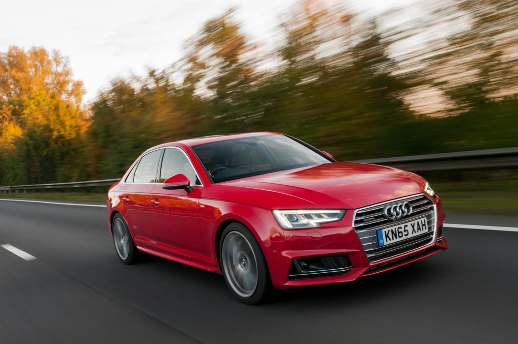 Audi-A4 TDI quattro S-line UK-spec (B9) cars sedan 2015 wallpaper