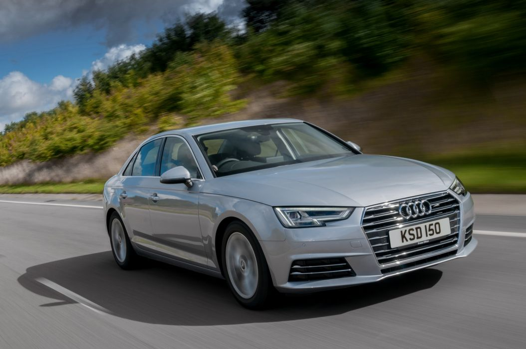Audi-A4 TDI Ultra UK-spec (B9) cars sedan 2015 wallpaper