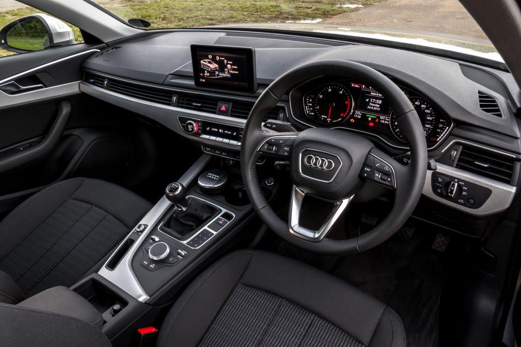 Audi-A4 TDI Ultra UK-spec (B9) cars sedan 2015 wallpaper
