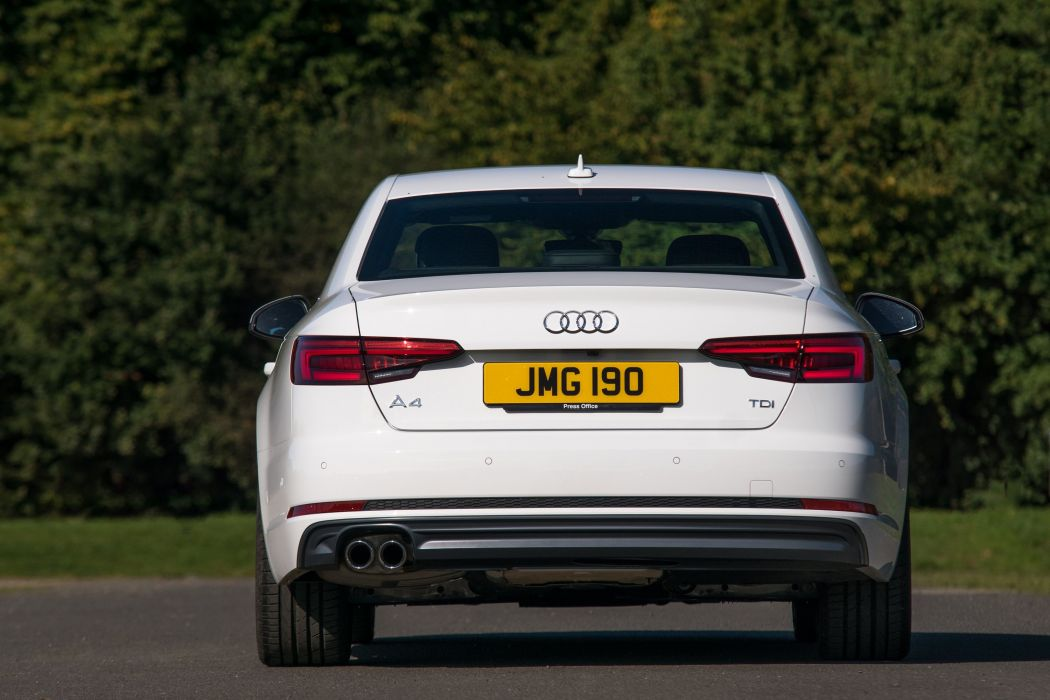 Audi-A4 TDI S-line UK-spec (B9) cars sedan 2015 wallpaper