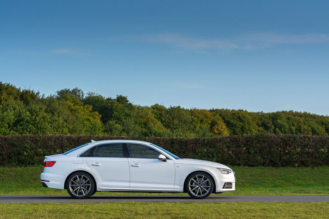 Audi-A4 TDI S-line UK-spec (B9) cars sedan 2015 wallpaper