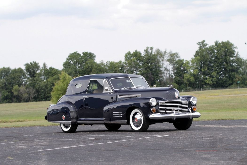 1941 Cadillac Sixty Special Custom 2-door Town Cars classic wallpaper
