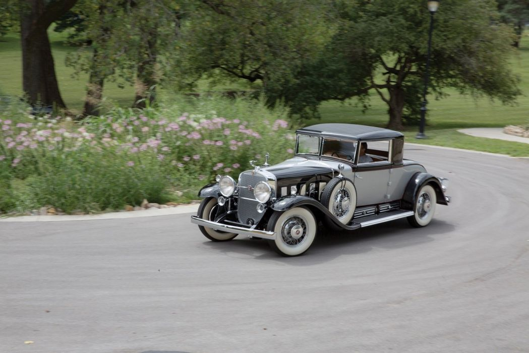 1930 Cadillac V16 452 2-4-passenger Coupe Fleetwood cars classic wallpaper