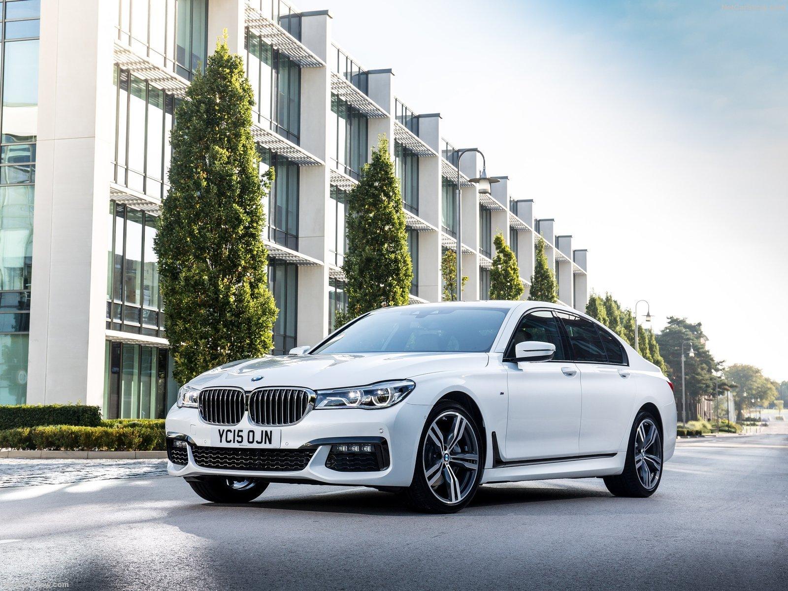 BMW 7 Series UK Version Cars Sedan White 2016 Wallpaper