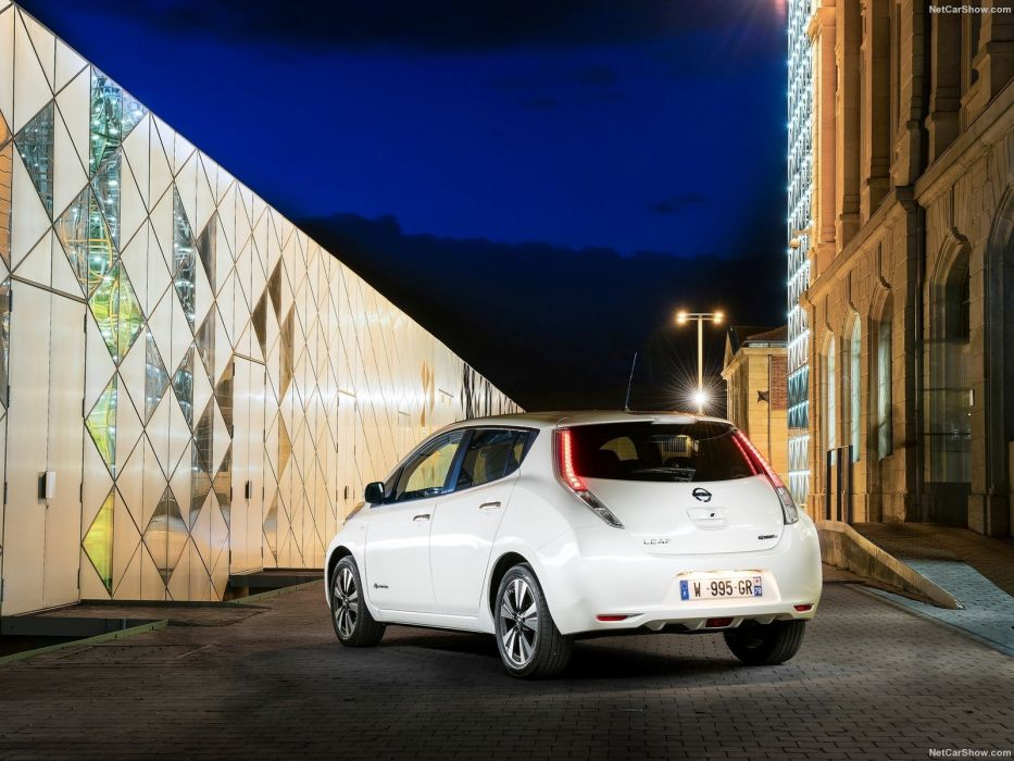Nissan Leaf 30-kWh cars electric 2016 wallpaper