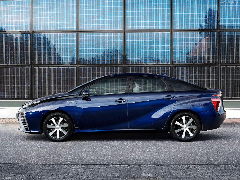 2016 cars hybrid mirai toyota wallpaper