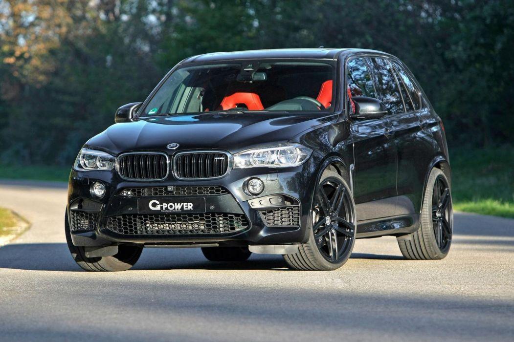 BMW X5-M G-Power cars black suv modified wallpaper