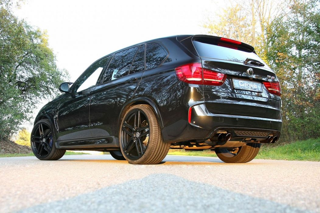 BMW X5-M G-Power cars black suv modified wallpaper