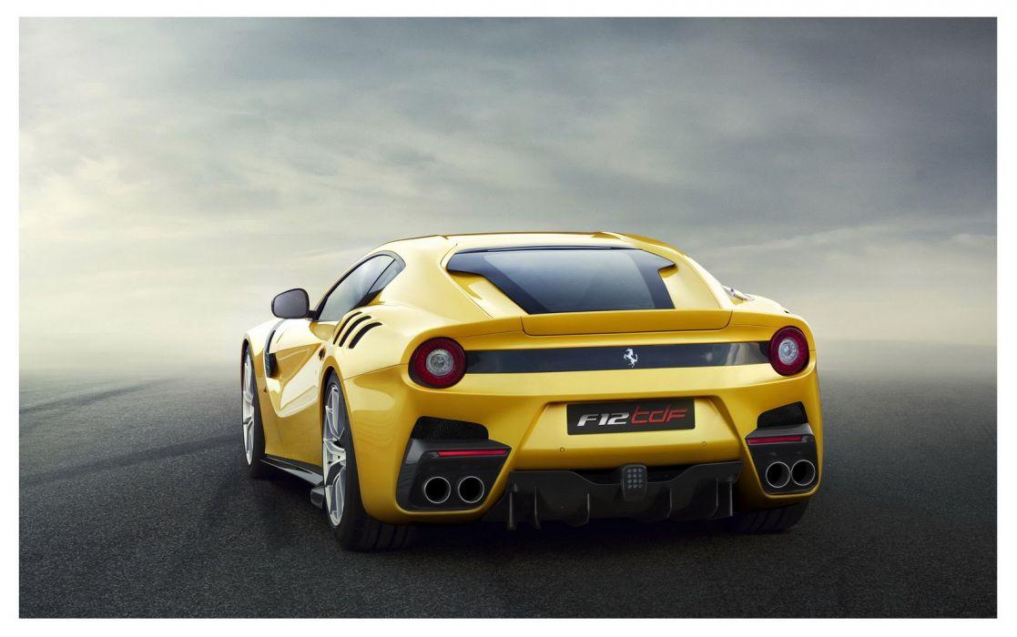 2016 cars Coupe F12tdf Ferrari wallpaper