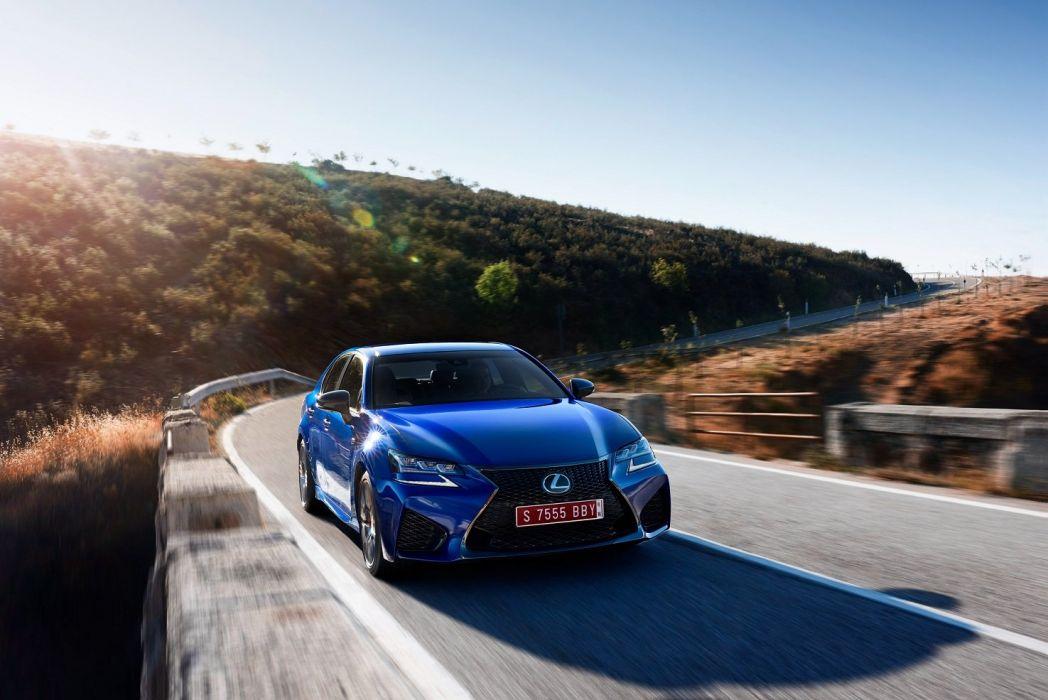 Lexus GS-F EU-spec cars sedan 2015 wallpaper